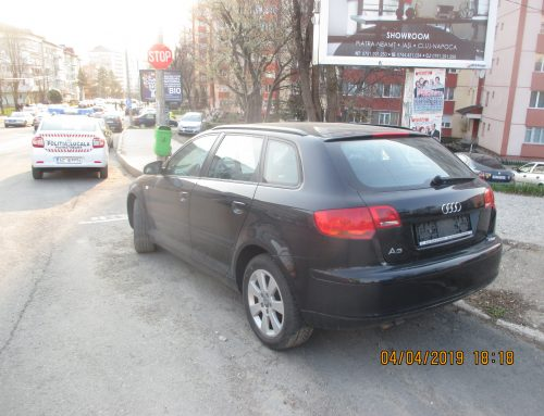 Poliția Locală Piatra Neamț: sancțiuni pentru expunerea spre vânzare a autovehiculelor în afara spațiilor amenajate și autorizate