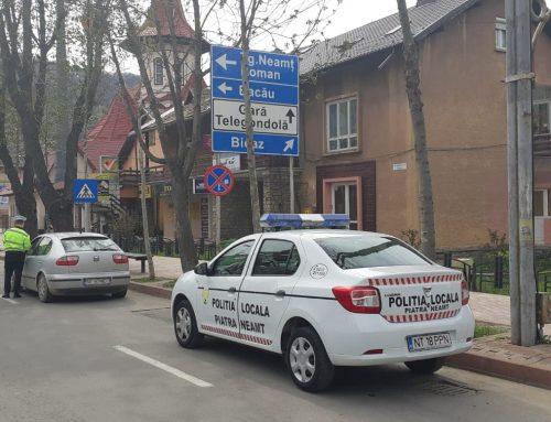 Poliția Locală Piatra Neamț – măsuri speciale de Paște