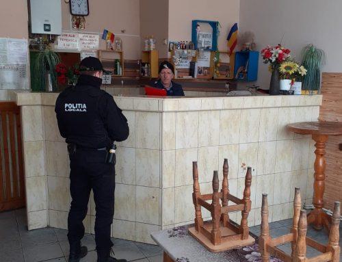 POLIȚIA LOCALĂ PIATRA NEAMȚ: Se verifică respectarea măsurilor impuse de declanșarea stării de urgență.