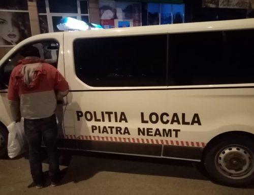POLIȚIA LOCALĂ PIATRA NEAMȚ: Sancțiuni pentru nerespectarea stării de urgență și a Ordonanțelor Militare