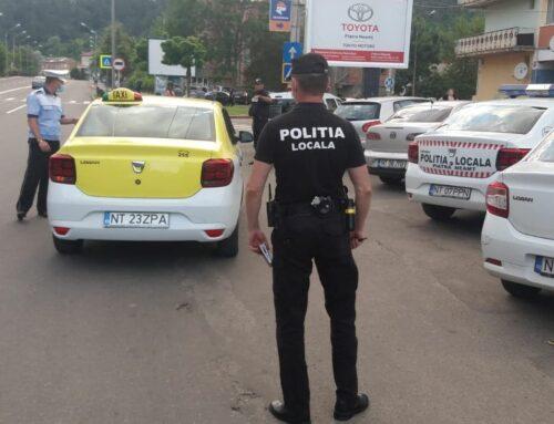 POLIȚIA LOCALĂ PIATRA NEAMȚ: Acțiune specifică pe linia prevenirii și combaterii răspândirii SARS – CoV2.