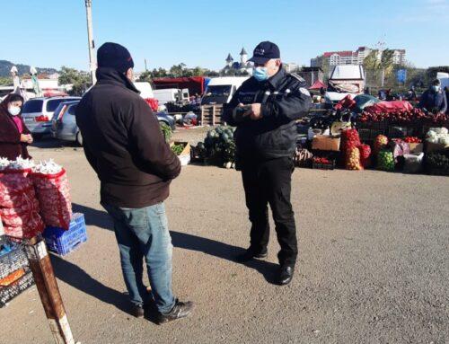 Poliția Locală Piatra Neamț: Acțiune pe linia prevenirii răspândirii SARS – CoV2