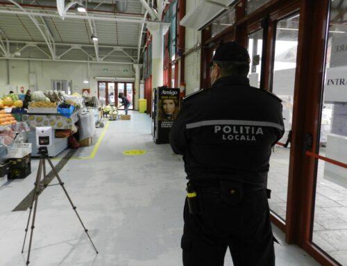 Poliția Locală Piatra Neamț: Polițiștii locali se asigura că Piața Centrală funcționează în condiții optime