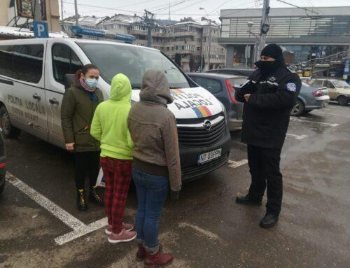 """Poliția Locală Piatra Neamț: Ajută-i! Spune """"NU"""" cerșetoriei!"""